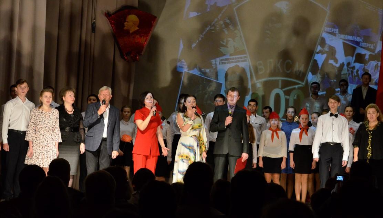 комсомол концерт 1